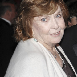 Comedian Anne Meara attends the Museum of the Moving Image Salute to Ben Stiller in New York in 2008.  AP file photo
