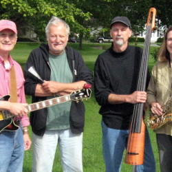 Exact Change will perform Saturday at Vose Library in Union. Audience donations will go toward installing air conditioning at the library.