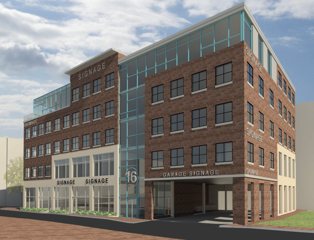 Bateman Partners is seeking final approval for a five-story mixed-use office building at 16 Middle St. near the Shipyard Brewery.