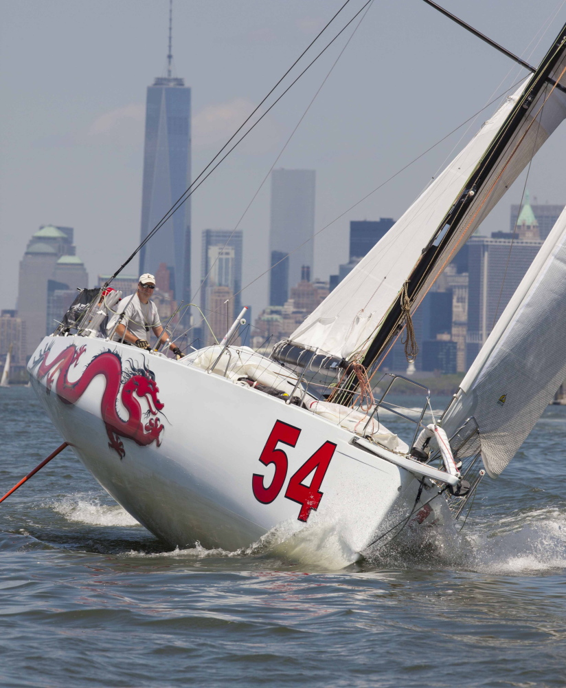 Sailboats like this one are scheduled to race into Portland next year as part of an event that starts in South Carolina.