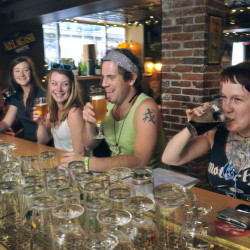 A surprise piece of legislation initiated by Gov. Paul LePage last week would allow bars, like Novare Res in Portland, above, to remain open until 2 a.m. through Columbus Day. The legislation is intended to capture more tourist dollars through the summer months. Bars typically close at 1 a.m. 2013 Telegram File Photo/John Ewing