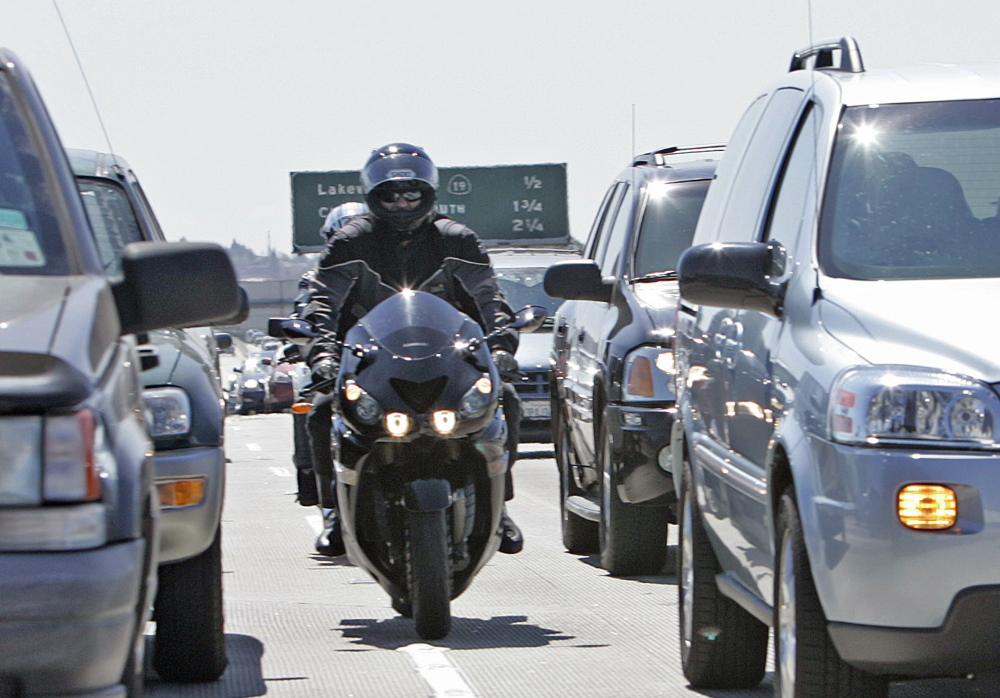 California's State Assembly approved legislation that, if it passes in the Senate, will make the state the first in the nation to legalize the lane-splitting practice of motorcyclists.