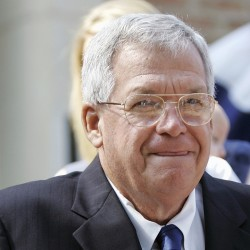 Former House Speaker Dennis Hastert paid a person to keep quiet about allegations that Hastert molested him during the time when Hastert was a high school wrestling coach, according to a report by the Los Angeles Times.