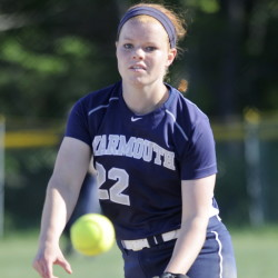 Yarmouth's Mari Cooper fired her second straight shutout and drove in two runs Friday, leading the Clippers to a 4-0 win over Falmouth in Western Maine Conference softball action.