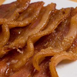 Bacon with brown sugar and cardamom The Associated Press