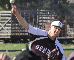 Will Bryant yielded only one hit and struck out 10 in six innings Friday as Greely improved to 4-0 with an 11-3 win over Poland. John Patriquin/Staff Photographer