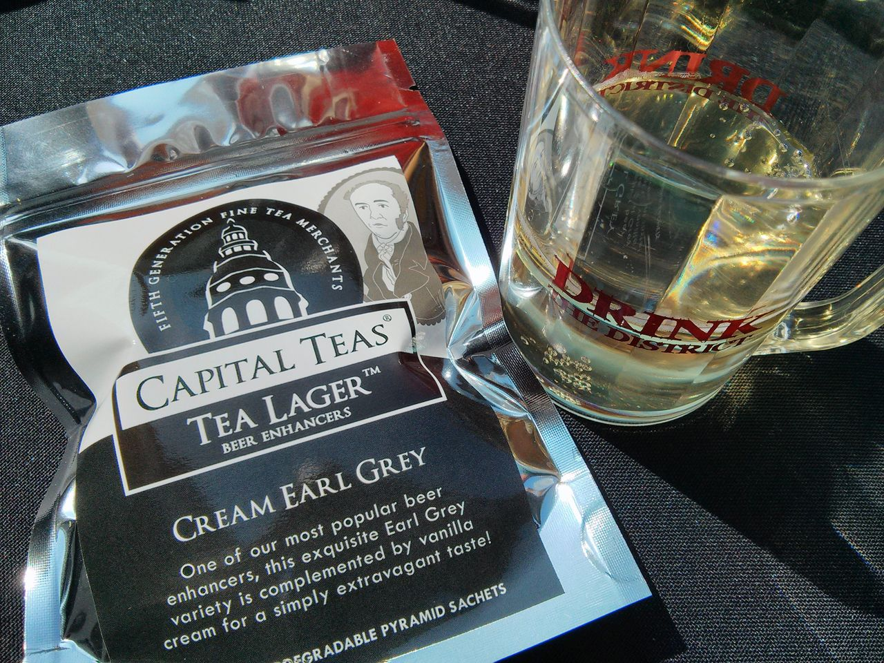 Can tea bags turn mass-market beer from average to amazing?