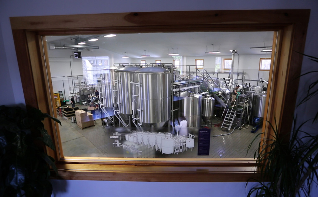 Maine Beer Co. brewery in Freeport has grown over six years from a one-barrel nanobrewery to producing more than 9,000 barrels this year.
