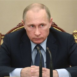 "Vladimir Putin: If ""someone has done something wrong,"" Russia ""has nothing to do with it.""  The Associated Press"