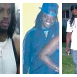 Daron Dylon Wint, shown here in undated photos provided by the Washington, D.C., police, is charged in connection with last Thursday's quadruple homicide of a wealthy Washington family and their housekeeper. The Associated Press