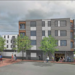 Redfern Properties received approvals for up to 53 market-rate apartments in a four-story building at 85 Anderson St. in East Bayside.