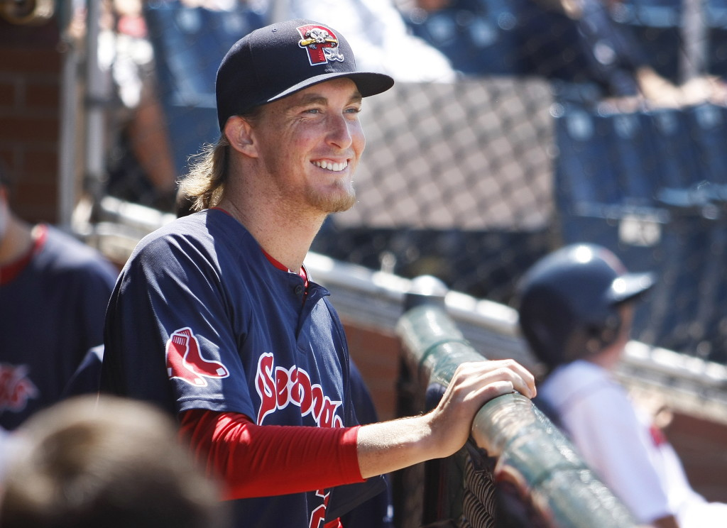 Henry Owens as a member of the Portland Sea Dogs definitely was something to smile about last season when he dominated the Eastern League. He found early-season trouble with Pawtucket this year but has been coming around. 2014 Press Herald File Photo/Jill Brady