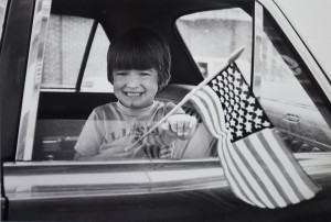 Matthew Walsh of Rockland celebrates the 4th of July in 1981. From the Press Herald archive