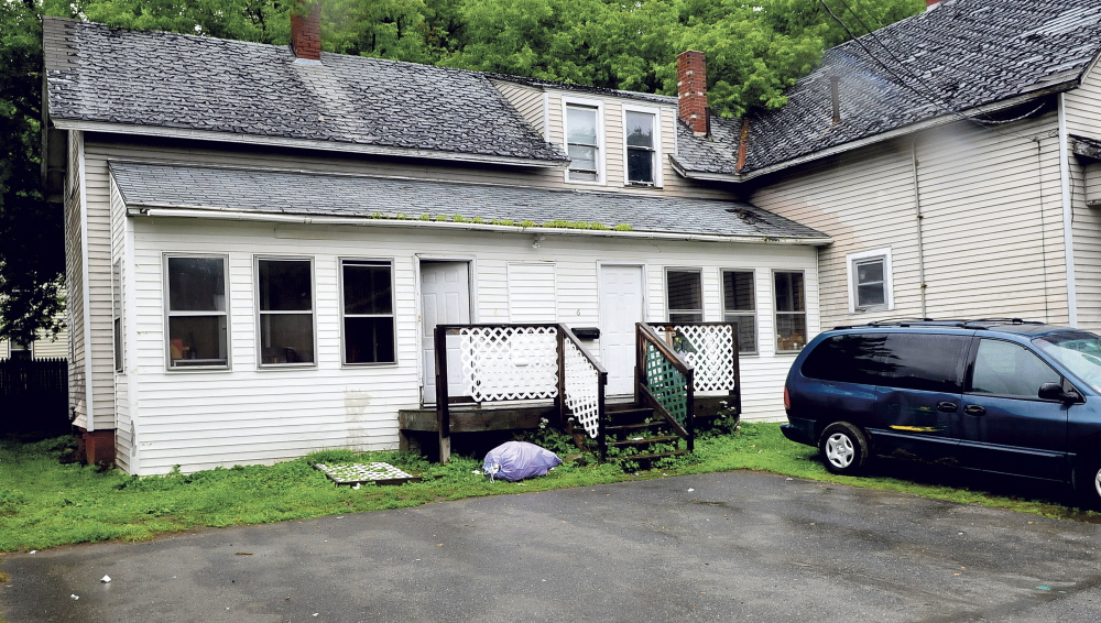 The apartment building at 4 May St. in Waterville was the scene of a fight early Tuesday in which a man suffered serious facial injuries, which could lead to aggravated assault charges against those involved.