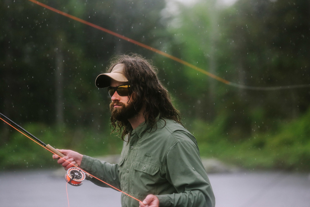 Fishing for brook trout at baker mountain pond the for Fishing jobs in maine