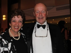 Board chair Ann Elderkin and co-founder Jack Riddle.