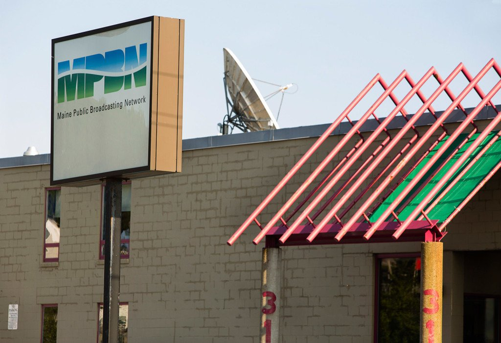MPBN will shut down its Portland-area radio station for four to five hours Thursday to finish repairs to its transmission system. Carl D. Walsh/Staff Photographer