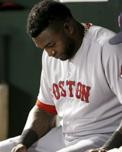 Boston's David Ortiz was among the veterans Manager John Farrell summoned to discuss why the team has failed to generate enthusiasm despite great preseason expectations and the team's highest-ever payroll.