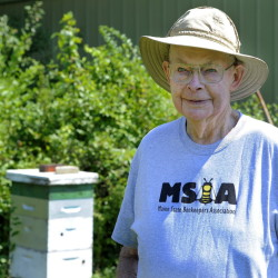 Stanford Brown ran Brown's Bee Farm, a popular beekeeping equipment and supply shop in North Yarmouth.