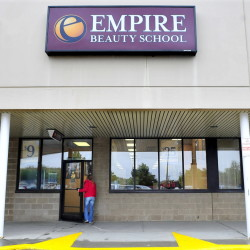 The Empire Beauty School in Waterville is one of six in the country that will close because of declining enrollment.