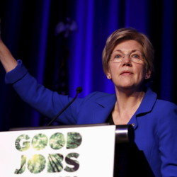 Massachusetts Sen. Elizabeth Warren has said numerous times she won't run for president, in spite of 365,000 signatures on a petition asking her to run.