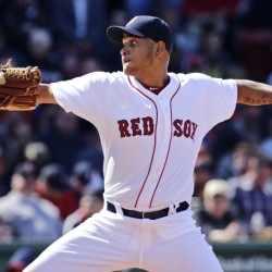 Red Sox starting pitcher Eduardo Rodriguez pitches to the Minnesota Twins during the seventh inning of the first baseball game of Wednesday's doubleheader. Rodriguez gave up just one run on two hits in the game.