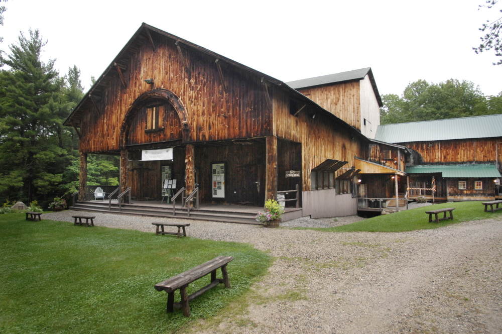 Deertrees Theatre in Harrison, home to the Sebago-Long Lake Music Festival (July 14-Aug. 11) has some of the best acoustics in New England.