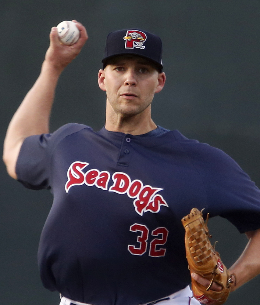 Justin Masterson, making a rehab start Friday night with the Portland Sea Dogs, allowed eight hits in four innings but said it wasn't that bad. Now he waits to see what the Red Sox have to say.
