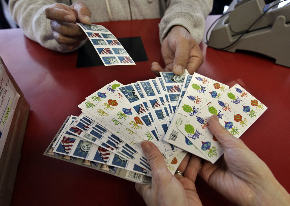 Now is a good time to buy stamps. They're likely going to cost more in the forseeable future.