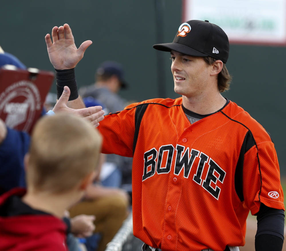 New England fans remember, so when Mike Yastrzemski – grandson of a Boston Red Sox legend – comes to Hadlock, he's a popular player.