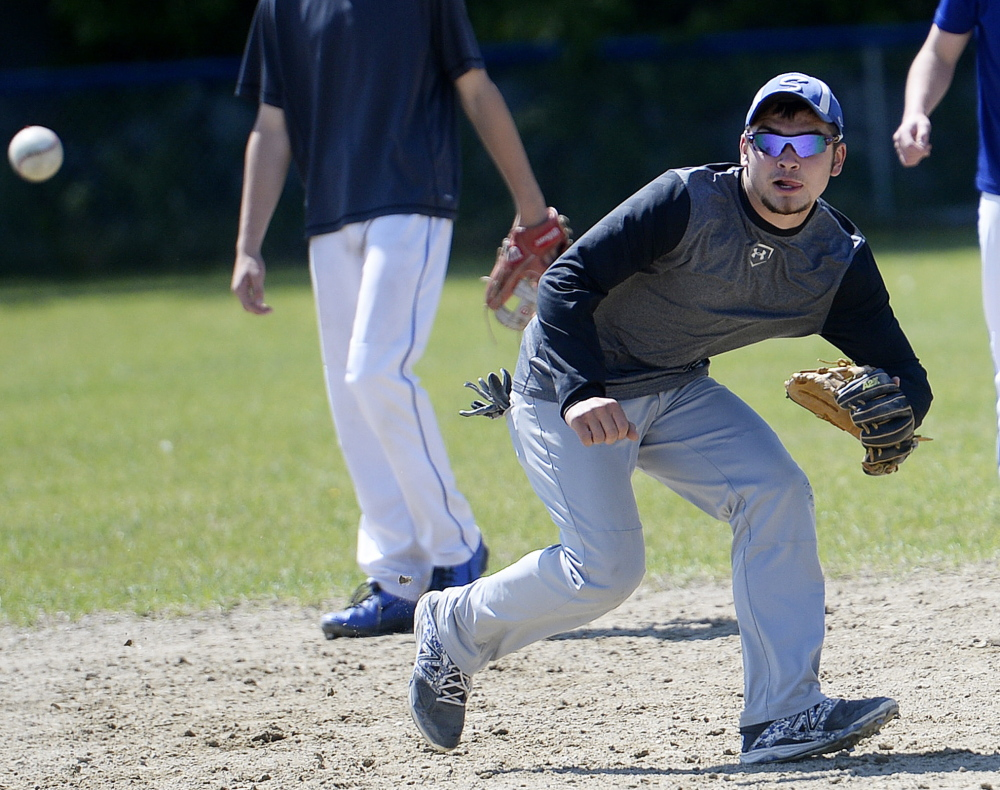 Brady Anderson, the son of Sacopee Valley baseball coach Eric Anderson, says the team learned through its playoff run a year ago and wants another title chance.