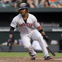 Boston's Hanley Ramirez , 31, has three more years and $66 million left on his contract, with a vesting option for 2018. He batted .183 after the All-Star break, with six doubles and no home runs. He has been banished from left field and is a player without a position, unless he learns how to play first base.