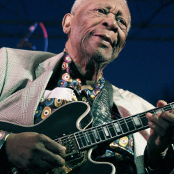 B.B. King performs in 2012. Four of his daughters are raising the possibility that a second will exists.