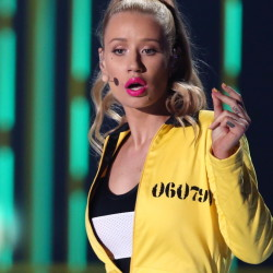 Iggy Azalea, above, is out and Nick Jonas, below, is in as the featured performer in Pittsburgh's gay-pride celebration concert this weekend.