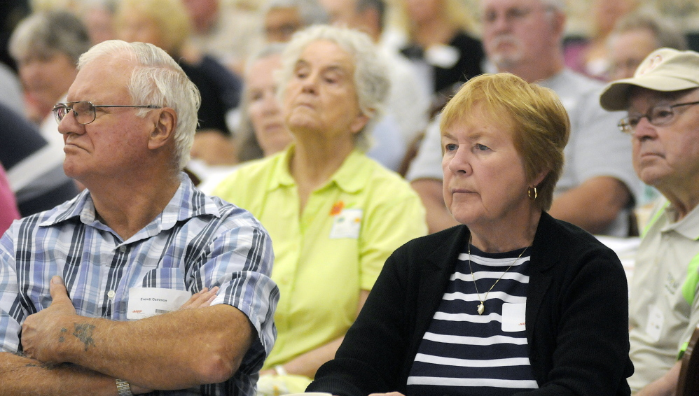 Age may bring wisdom, but guests at Scam Jam in Augusta on Thursday may not have been aware of how far scam artists may go to exploit their gullibility.