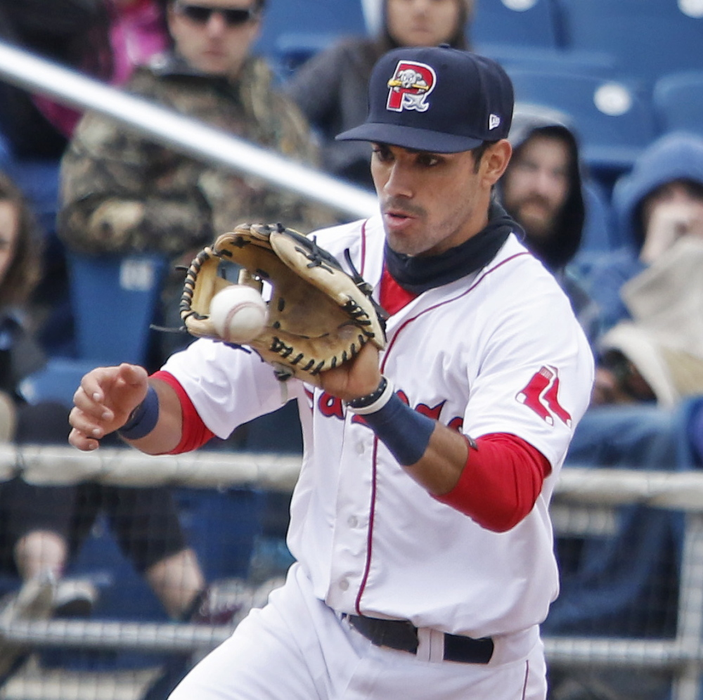 Carlos Asuaje reached his goal of making Double-A out of spring training and now has to make adjustments after leveling off following a hot start to the season.