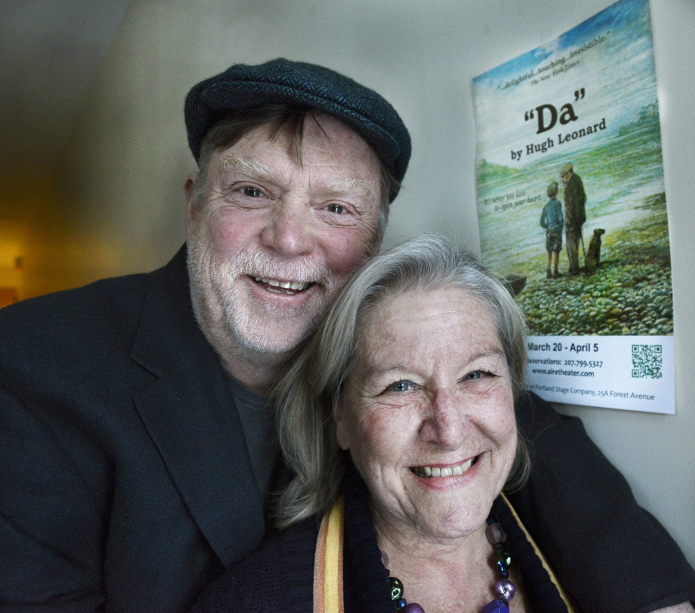Tony and Susan Reilly ran a theater company in Portland together, and nearly every poignant moment they shared involved a play they had acted in or seen in New York, London or Portland.