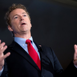 """Republican presidential candidate, Sen. Rand Paul, R-Ky., said Thursday, """"Basically my conclusion is the tax code can't be fixed and should be scrapped."""""""