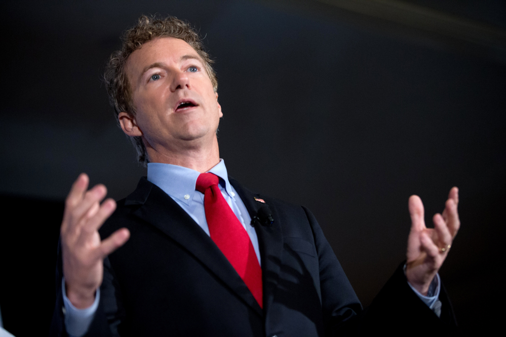 """In June, Republican presidential candidate, Sen. Rand Paul, R-Ky., said, """"Basically my conclusion is the tax code can't be fixed and should be scrapped."""""""