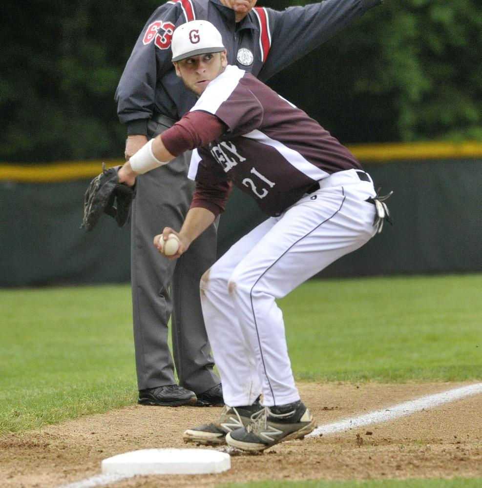 Chaz Reade is a third baseman – like his brother – and a state champion at Greely – like his brother. And their father is president of the boosters.
