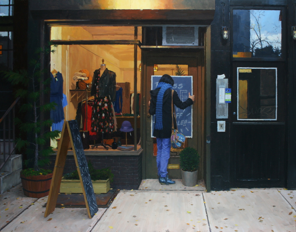 "Vincent Giarrano, ""Dress Sale."""
