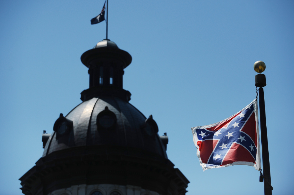 Removing the Stars and Bars from Statehouse grounds is a bipartisan cause, but it won't be furled easily.