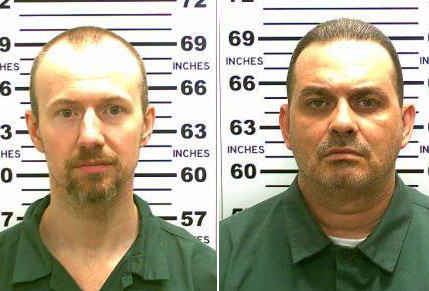 David Sweat, left, and Richard Matt , who was shot and killed by police.