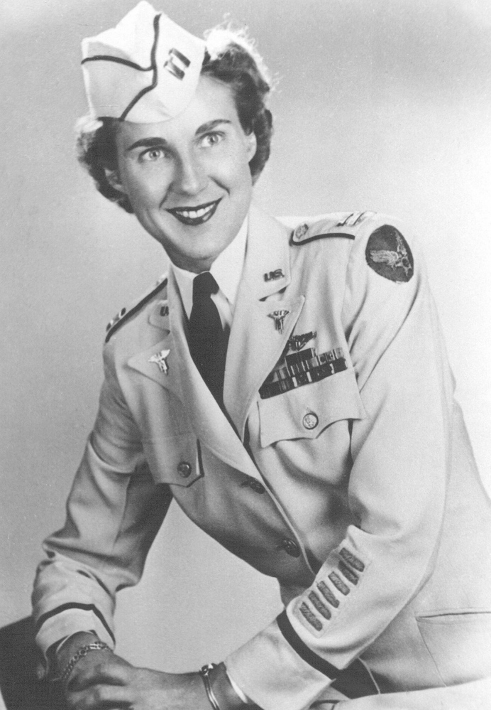 Alice M. Zwicker, one of the 77 Angels of Bataan, as a captain.Contributed photo