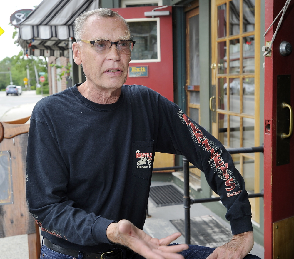 Philip Printz, 67, who owns a condominium on High Street, believes that the state should pay to aid asylum seekers, but says that Portland should take the responsibility if Augusta fails to.