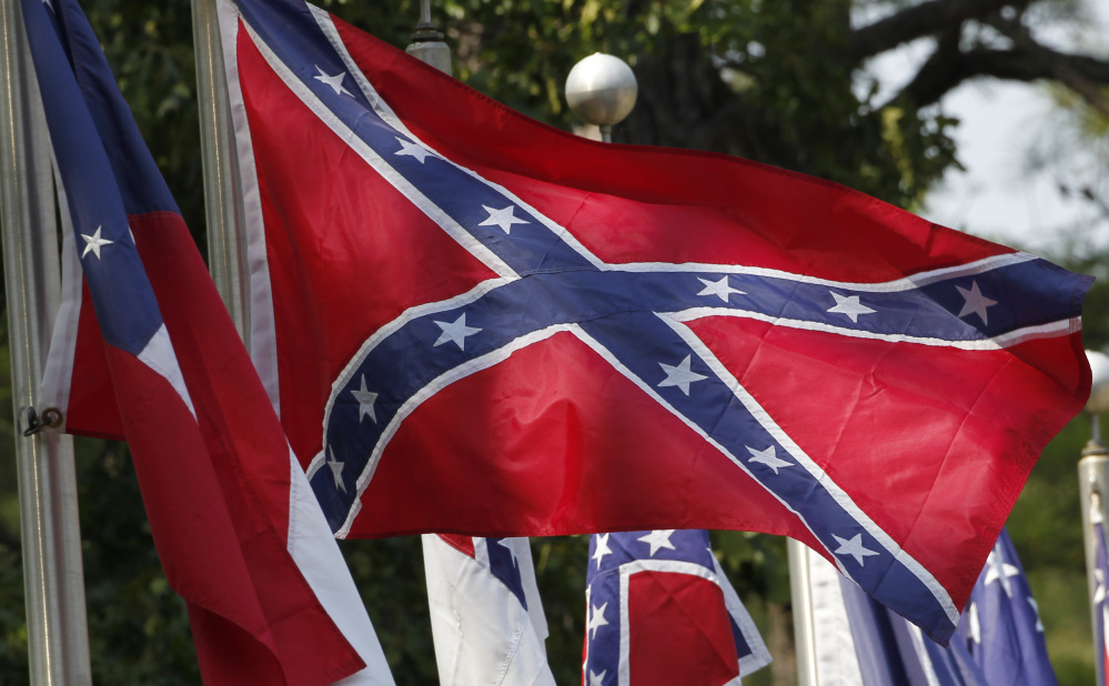 The Confederate battle flag represents racism to many, and Southern heritage to some.