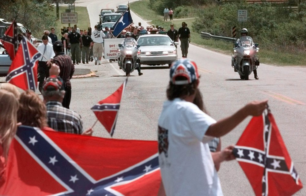 Major retailers, including Amazon, Sears and eBay, announced they would exclude sales of the controversial Confederate flag. The move follows the lead of Wal-Mart, which banned all Confederate-themed items on Monday.