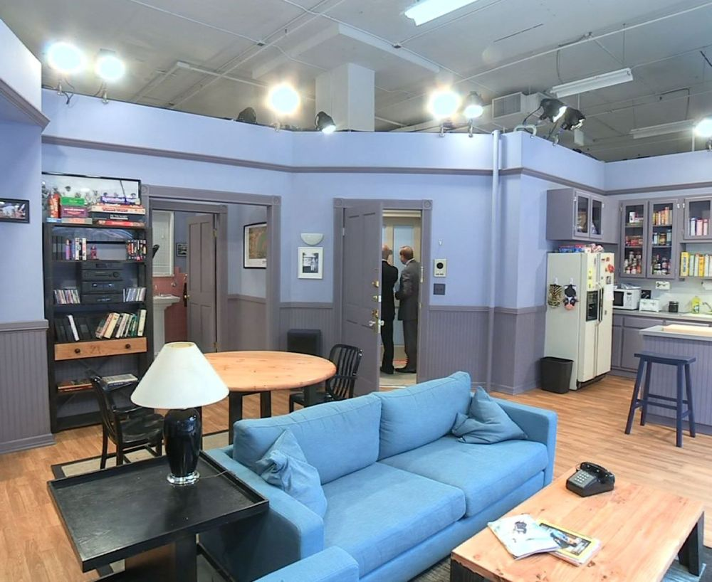 A real-life model of Jerry Seinfeld's apartment can be visited for free now through Sunday at New York's Milk Studios.