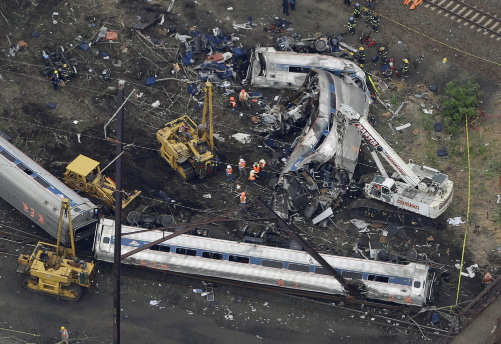 The May 12 derailment of an Amtrak in Philadelphia, which killed eight and injured about 200, could have been prevented by positive train control, federal officials say.