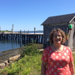 Even at home in Harpswell, Dee Miskill will act as the support crew should her husband, Don Miskill, again attempt to hike the Appalachian Trail alone once his sore hip is up to par.